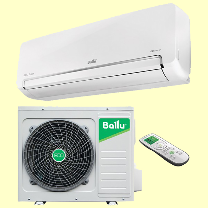 Установка кондиционера Ballu BSLI-07HN1 (холод 2.1/тепло 2.1кВт) в Сургуте
